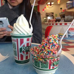 Photo taken at Rita's of Elmsford by Christina L. on 3/13/2015