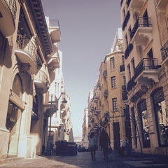 Photo taken at Beirut Central District by Alain on 4/14/2015