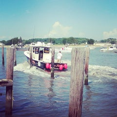 Photo taken at Deal Island Harbor by Cindi on 9/1/2014