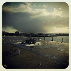 Photo taken at Havenpaviljoen De Dining by Hotelletje de Veerman on 12/6/2012