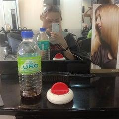 Photo taken at Hair Secret Saloon by Jacquelinebii on 1/31/2013