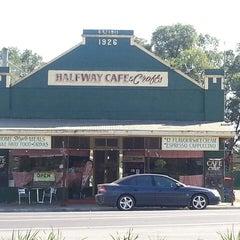Photo taken at Halfway Cafe by John L. on 4/18/2014