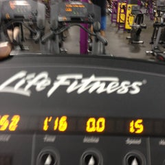 Photo taken at Planet Fitness by Travis B. on 4/21/2013