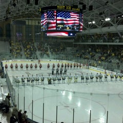 Photo taken at Yost Ice Arena by Mike C. on 10/11/2012