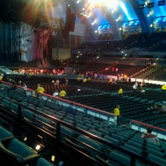 Photo taken at Boardwalk Hall by Kelly L. on 9/15/2012