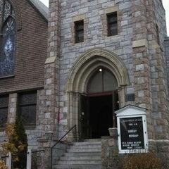 Photo taken at Unitarian Universalist Church of Medford by Chadwick K. on 11/17/2013