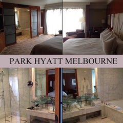 Photo taken at Park Hyatt Melbourne by Wakeup Your Makeup on 10/7/2012