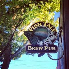 Photo taken at Fish Tale Brew Pub by Jennifer H. on 7/12/2012