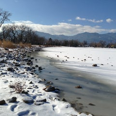 Photo taken at Prospect Lake by Tanya on 12/28/2012
