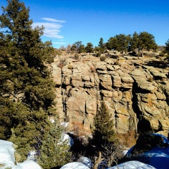 Photo taken at Castlewood Canyon State Park by Tanya on 1/26/2014