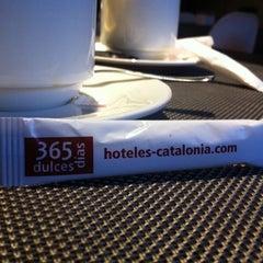 Photo taken at Hotel Catalonia Sabadell **** by Raig de Llum on 12/31/2013