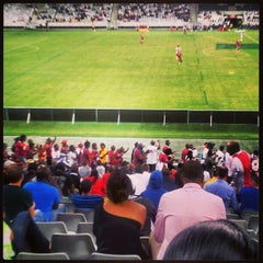Photo taken at Cape Town Stadium by mishkaah p. on 2/13/2013