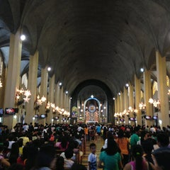 Photo taken at National Shrine of Our Mother of Perpetual Help by Mark Lester A. on 1/2/2013