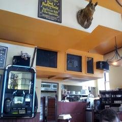 Photo taken at Hudson Yards Cafe by Shashi B. on 10/17/2012