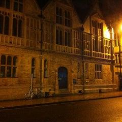 Photo taken at Oxford University Examinations Schools by Alpesh P. on 12/22/2012