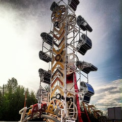 Photo taken at Tanana Valley State Fair by Tyler B. on 8/6/2013