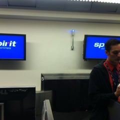 Photo taken at Spirit Airlines Flight 336 by Suzanne B. on 10/6/2012