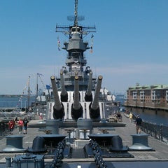 Photo taken at USS Wisconsin (BB-64) by Ruth A. on 6/12/2013