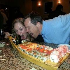 Photo taken at Tasu Asian Bistro Sushi & Bar by Donna B. on 2/21/2013