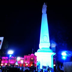 Photo taken at Plaza de Mayo by Ariel C. on 4/19/2013