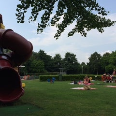 Photo taken at Recreatiebad Stappegoor by Richard P. on 7/29/2014