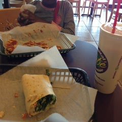 Photo taken at Tropical Smoothie Cafe by Sherell B. on 10/14/2012