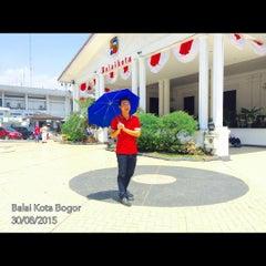 Photo taken at Balai Kota Bogor by Kiyoshi Elman A. on 8/30/2015