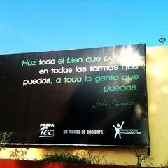Photo taken at Tecnológico de Monterrey by Luis A. on 8/2/2013