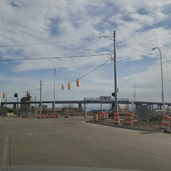 Photo taken at I-75 Rouge River Bridge by Leslie T. on 3/19/2016