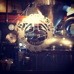 Photo taken at 75th Street Brewery by Rob E. on 4/7/2013