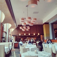Photo taken at One Market Restaurant by Amanda on 8/8/2013