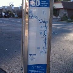 Photo taken at 60 Bus Stop by Thomas Z. on 10/11/2012