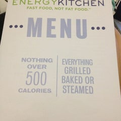 Photo taken at Energy Kitchen by Val on 2/14/2013