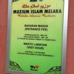 Photo taken at Melaka Islamic Museum by Abg Ghazali on 12/15/2012