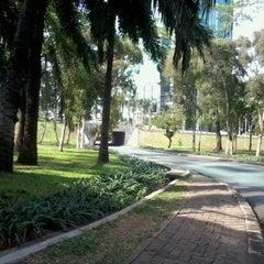 Photo taken at Jembatan Semanggi by I M. on 10/14/2012