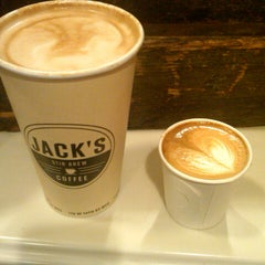Photo taken at Jack's Stir Brew Coffee by Rob on 9/23/2012