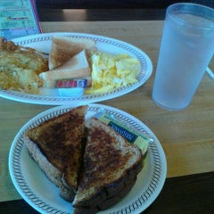 Photo taken at Waffle House by Derrick M. on 10/26/2012