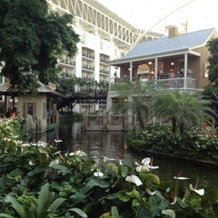 Photo taken at Gaylord Opryland Resort and Convention Center by Jake F. on 10/7/2012