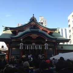 Photo taken at 水天宮 by Junji K. on 1/13/2013