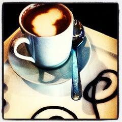 Photo taken at Bauhaus Kaffee by Bruce M. on 1/5/2013