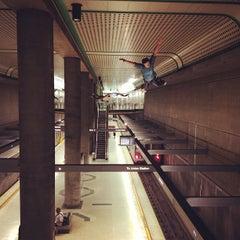 Photo taken at Civic Center Metro Station by Luis R. on 5/14/2013
