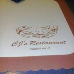 Photo taken at CJ's Restaurant by D.L. K. on 9/30/2012