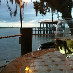 Photo taken at Cap's on the Water by Patrick A. on 9/21/2012