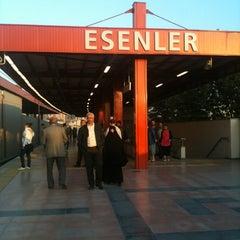 Photo taken at Esenler Metro İstasyonu by Erhan Ç. on 10/12/2012