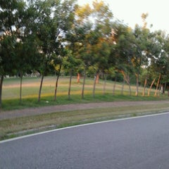 Photo taken at Parque Mirador Sur by Emmanuel G. on 9/17/2012
