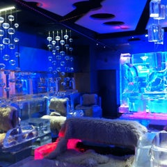 Photo taken at Chillout Ice Lounge Dubai by Bassem E. on 1/21/2013
