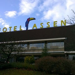 Photo taken at Van der Valk Hotel Assen by Richard v. on 11/25/2012