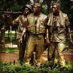 Photo taken at Vietnam Veterans Memorial by Diego R. on 6/21/2013