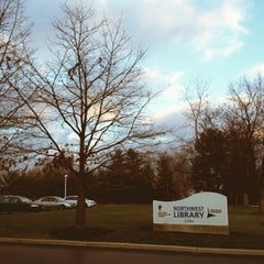 Photo taken at Northwest Library by Chad S. on 12/11/2012