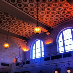 Photo taken at New Haven Union Station by Andre A. on 3/9/2013